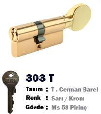 ALTIN CERMAN BAREL SARI TOPUZLU 68 MM