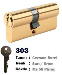 ALTIN CERMAN BAREL SARI / NİKEL 68 MM